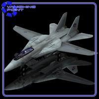 f14 poser f-14 tomcat 3d model