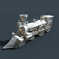 3d model locomotive engines