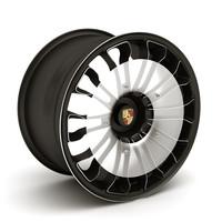 3d model porsche spyder 918 wheel