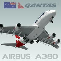 Airbus A380 Qantas