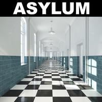 3ds max asylum realistic