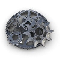 3ds max gears set 03