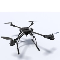 3d quadcopter model