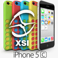 3ds max apple iphone 5c