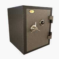 3d model safe box 1