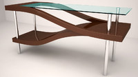 contemporary vibrant table 3d max