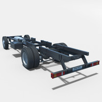 chassis gazelle 3d max