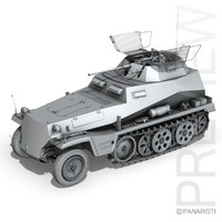 sd kfz 250 9 3ds