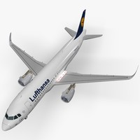 lightwave sharkleted airbus aneo lufthansa