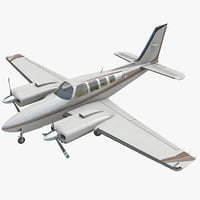 Beechcraft Baron 58 Civil Utility Aircraft