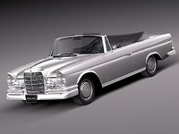 mercedes mercedes-benz convertible 3d 3ds