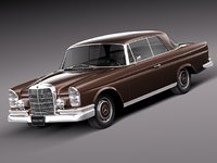 3ds max car classic antique mercedes