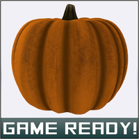 3ds autumn pumpkin 8