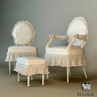 3dsmax halley chair
