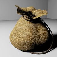 3dsmax sack rope