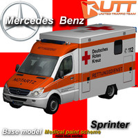 3ds max mercedes-benz sprinter
