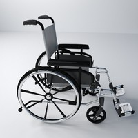 maya wheelchair chair wheel