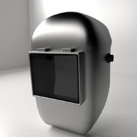 3ds max welding helmet