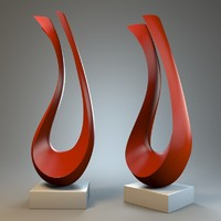 sculpture harp max