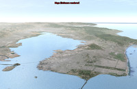 san francisco bay area 3d max