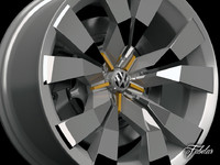 Volkswagen Crossblue rim
