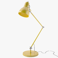 3d model simple table lamp