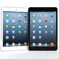 Apple ipad Mini Blue And White