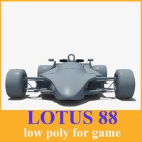Lotus 88 racing Car