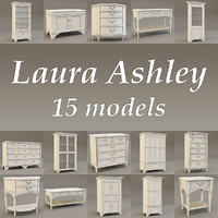 laura ashley 3d model