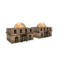 afghan house 3d model