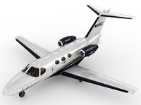 3d model cessna 510 citation mustang