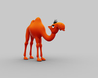 camel character 3ds