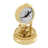3d roman decorative clock model