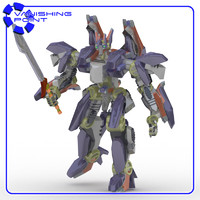 3d robot poser ironclad model