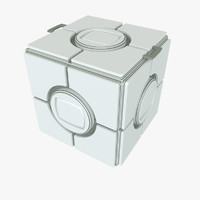 container scifi box 3d model