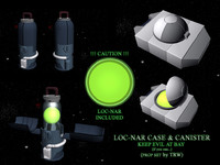 3d model of loc-nar case