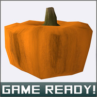 3ds max autumn pumpkin 4