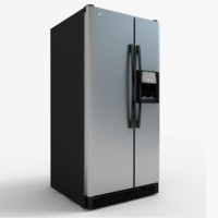 3ds max wd5003d refrigerator