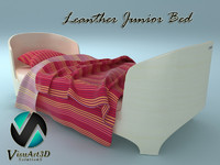 leander junior bed 3d model