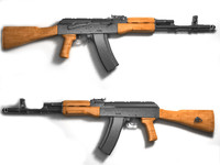 3d sale ak-47 assault rifle model
