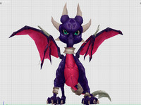 3d cynder dragoness model