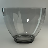 glass bowl 3d c4d