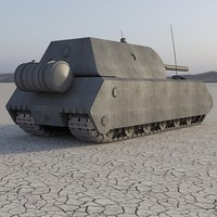 maus german tank 3d max