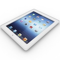 3d apple ipad 2 wi-fi model
