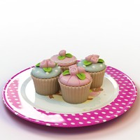 3ds max cupcake 016