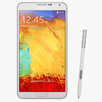 Samsung Galaxy Note 3 White Smartphone