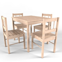 ikea svala children s 3d model