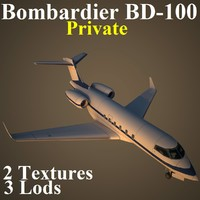 3d model bombardier pvt
