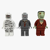 lego monsters 3d 3ds