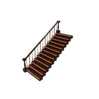 staircase ready 3d fbx